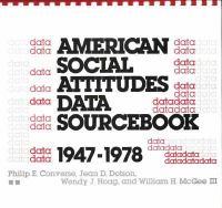 American Social Attitudes Data Sourcebook