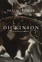 Dickinson : selected poems and commentaries