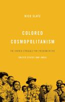 Colored Cosmopolitanism
