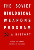 The Soviet Biological Weapons Program
