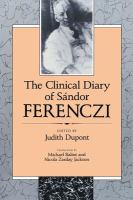 The Clinical Diary of Sandor Ferenczi