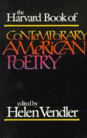 The Harvard Book of Contemporary American Poetry