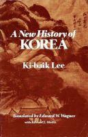 A New History of Korea