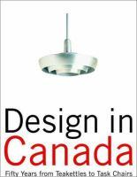 Design in Canada Since 1945