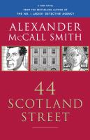 44 Scotland Street book cover, by Alexander McCall Smith.