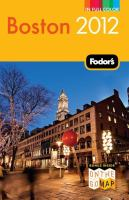 Fodor's 2012 Boston