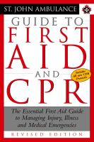 St. John Ambulance Guide To First Aid And CPR