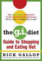 The G.I. Diet : Guide To Shopping And Eating Out