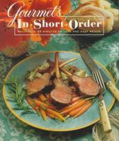 Gourmet's in Short Order