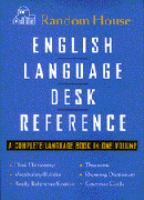 Random House English Language Desk Reference