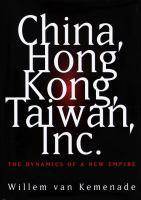 China, Hong Kong, Taiwan, Inc
