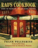 Rao's Cookbook