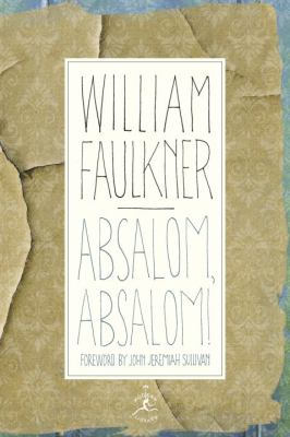 Cover image for Absalom, Absalom!