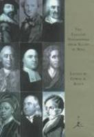 The English Philosophers From Bacon to Mill