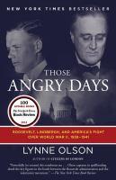 Those Angry Days