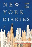Image: New York Diaries, 1609 to 2009