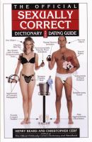 The Official Sexually Correct Dictionary and Dating Guide