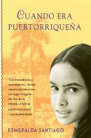 Cuando era puertorriqueäna