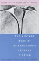 The Vintage Book of International Lesbian Fiction