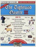 The Tightwad Gazette III