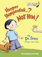 Hooper Humperdink--? Not Him!