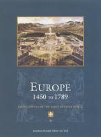 Europe, 1450-1789