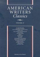 American Writers Classics