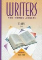 Writers for Young Adults