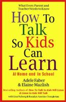 How to Talk So Kids Can Learn at Home