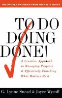 To Do-- Doing-- Done!
