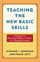 Teaching the New Basic Skills