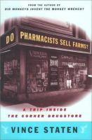 Do Pharmacists Sell Farms?