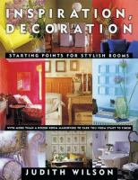 Inspiration, Decoration