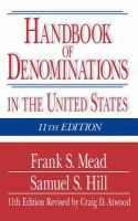 Handbook of Denominations in the United States