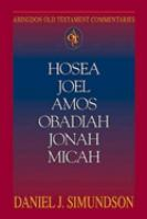 Hosea, Joel, Amos, Obadiah, Jonah, Micah