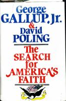 The Search for America's Faith