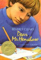Dear Mr. Henshaw