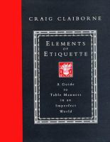 Elements of Etiquette