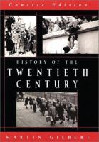 History of the Twentieth Century [concise Edition]