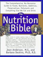 The Nutrition Bible