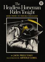 The Headless Horseman Rides Tonight