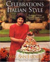 Celebrations, Italian Style