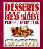 Desserts From your Bread Machine