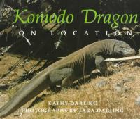 Komodo Dragon on Location