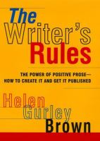 The Writer's Rules