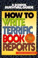 How to Write Terrific Book Reports