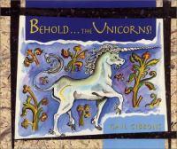 Behold ... the Unicorns!