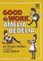 Good Work, Amelia Bedelia