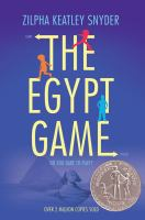 The Egypt Game.  / Drawings by Alton Raible