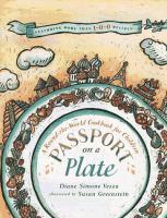 Passport on A Plate